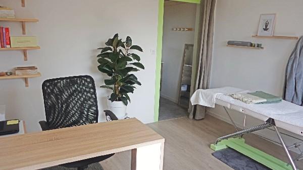 L'espace consultations du cabinet de naturopathie d'Annecy-le-Vieux